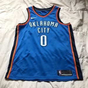 Nike Men's OKC Thunder Westbrook Swingman Jersey